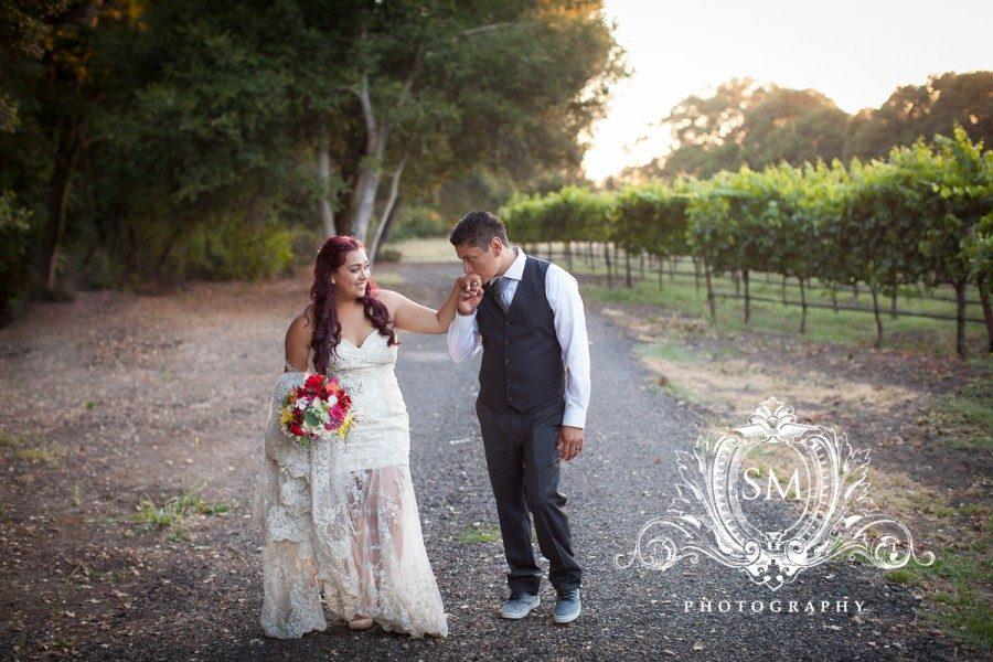Carlos and Stephanie – Crane Melon Barn Wedding Photographer – Sonoma Wedding Photography